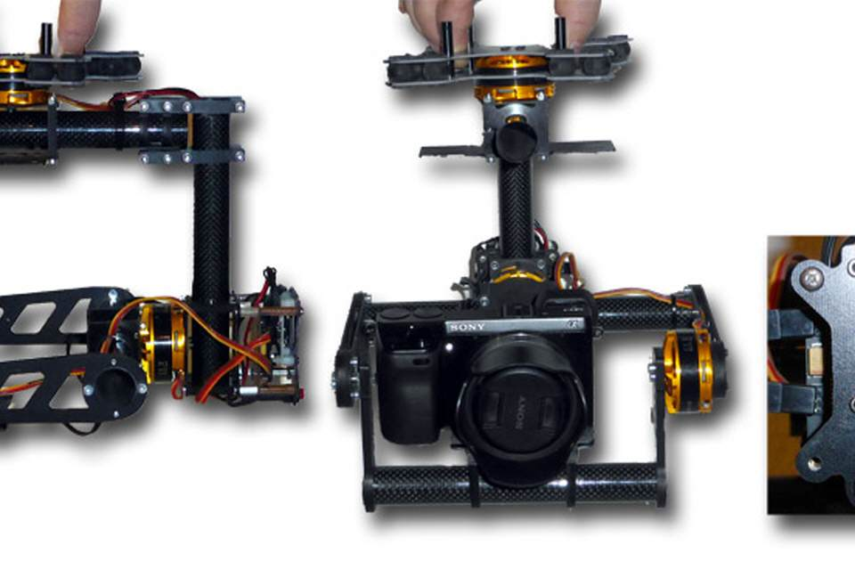 Bausatz GS1-3D Brushless GIMBAL
