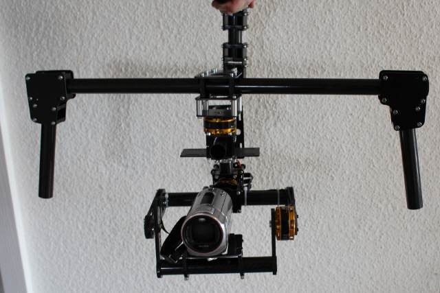 GS1-3D Brushless Gimbal + Handheld Halter